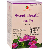 Health King Sweet Breath Herb Tea - 20 Tea Bags
