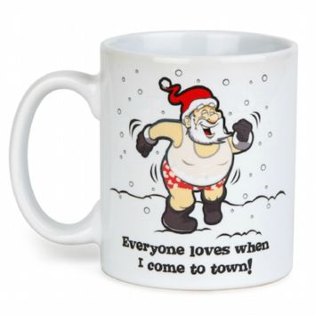 Color Changing Santa Mug