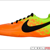 Nike FC247 Elastico II Indoor Soccer Shoes - Bright Citrus with Volt - SoccerPro.com