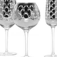 Montecito Stemware - Sets of 4 - Silver | Gifts for the Bar | Gifts | Z Gallerie