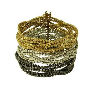 Triple Plaited Cuff