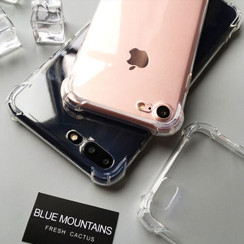 New Upgrade Jelly SiliconeiPhone X 8 7 7Plus & iPhone 6s 6 Plus Case UNBreak Cover with Gift Box