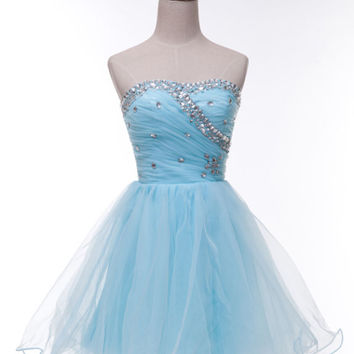 Sexy Women Formal Homecoming Prom Ball Gown Cocktail Short Party Evening Dresses