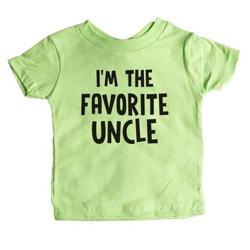 I'm The Favorite Uncle Baby Tee