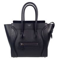 "New Celine Black ""Micro Luggage"""
