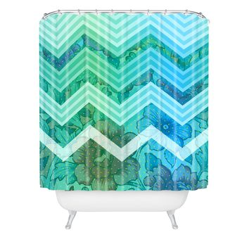 Gabi Azul Shower Curtain