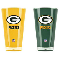 Green Bay Packers Tumblers - Set of 2 (20 oz)
