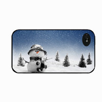 Iphone 4 Christmas Snowman, iphone 4s