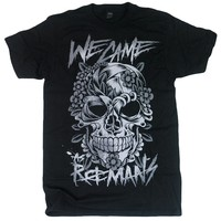 Flower Skull Black : WCAR : MerchNOW - Your Favorite Band Merch, Music and More