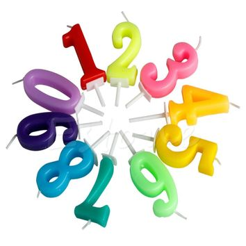 NEW Kids Baby Birthday Anniversary Cake Numbers Age Candle Party Supplies Decoration