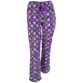 Mickey Mouse - Lovely Couple Juniors Plus Size Sleep Pants
