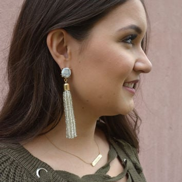 Dilworth Road Tassel Earrings