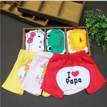 1pieces/lot cotton 2014 Five star cartoon baby pants boy girl kids baby clothing leggings PP Pants Trousers