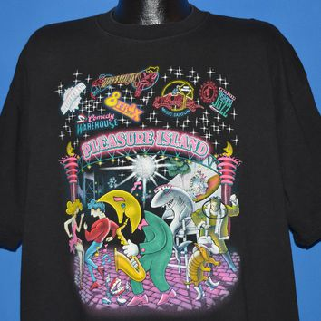 90s Pleasure Island Disney World t-shirt Extra Large