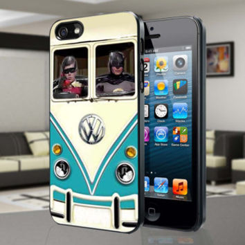 Volkswagen Batman Robin-for iPhone 4/4s/5/5S/5C, Samsung S3/S4 case cover