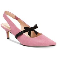 Nanette Lepore Nanette by Nanette Lepore Hansel Bow Pumps, Created for Macy's & Reviews - Pumps - Shoes - Macy's