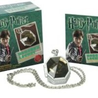 Harry Potter Slytherin's Locket Horcrux Kit and Sticker Book