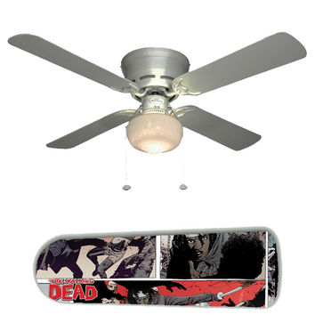 "Walking Dead II 42"" Ceiling Fan and Lamp"