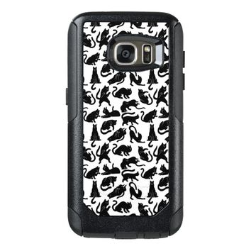 Vintage Whimsical Cat Fabric OtterBox Samsung Galaxy S7 Case
