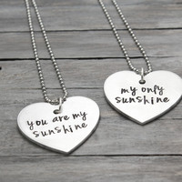 """You Are My Sunshine"" Necklace Set"