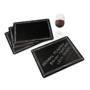 Blackboard Placemats - Set of 4 | chalkboard placemats
