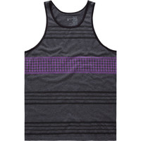 Blue Crown Fastest Times Mens Tank Charcoal  In Sizes
