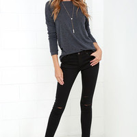 Obey Lean & Mean Classic Black Skinny Jeans