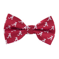 Alabama Crimson Tide NCAA Repeat Mens Bow Tie