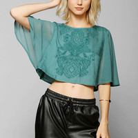 Kimchi Blue Giselle Capelet Top - Urban Outfitters