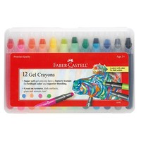 12ct Gel Crayons | Faber-Castell