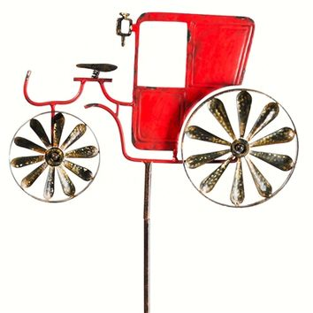 SheilaShrubs.com: Blow The Horn Vintage Car Kinetic Garden Stake 491289 by Evergreen Enterprises: Garden Stakes & Balancers