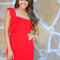 Restock: Ark & Co: Dance Til Dawn Dress: Red | Hope's
