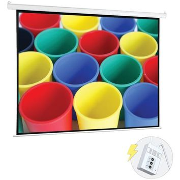 "Pyle(R) PRJELMT106 Motorized Projector Screen (100"")"
