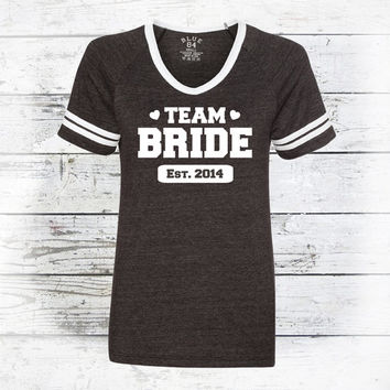 Personalized Bridal Party - Wedding Party - Team Bride Shirts - Bridal Party - Wedding Party T-Shirt
