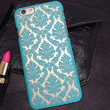 Vintage Court Floral Case for iPhone
