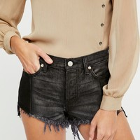 Free People Pieced Step Hem Short