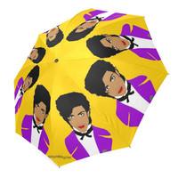 PRINCE the artist formerly known as or GOLDEN girls umbrella... original illustration
