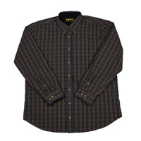 Barbour The Country Shirt Plaid Button Down Shirt Mens Size Large