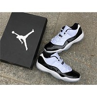 "Air Jordan 11 Low ""Concord""Basketball Shoes AJ11 Style # 528895 153"