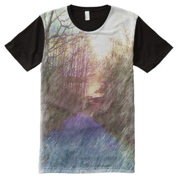 Forest Path All-Over-Print Shirt
