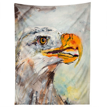 Ginette Fine Art Bald Eagle Tapestry
