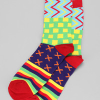 Urban Outfitters - Mixed Geo Sock