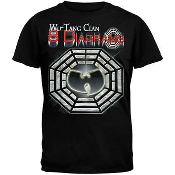 Wu-Tang Clan - 8 Diagrams Foil T-Shirt