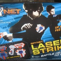 SPYNET - LASER TAG HEAD TO HEAD DUELING SYSTEM