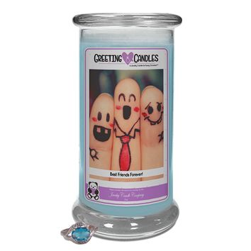 Best Friends Forever! | Jewelry Greeting Candles