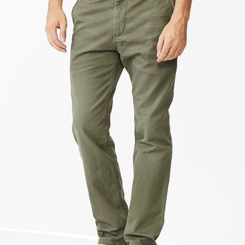 Lived In Tapered Khaki