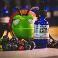 """Blue Out"" Premium E-Liquid"