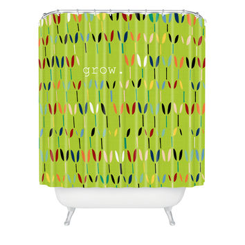 Sharon Turner Grow 1 Shower Curtain