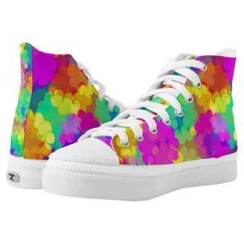 The Colors of Life Shoes Printed Shoes