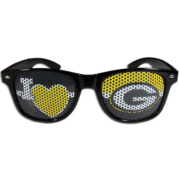 Green Bay Packers I Heart Game Day Shades FHGD115B